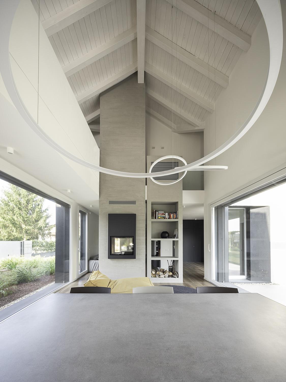 Open space living room Filippo Poli
