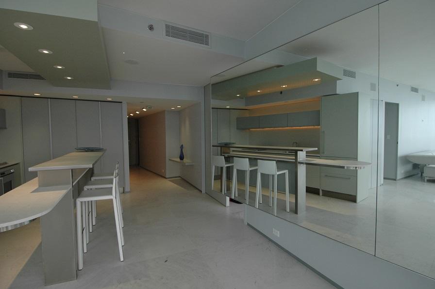 Miami Penthouse Kitchen with Reflection Dan Zaharia