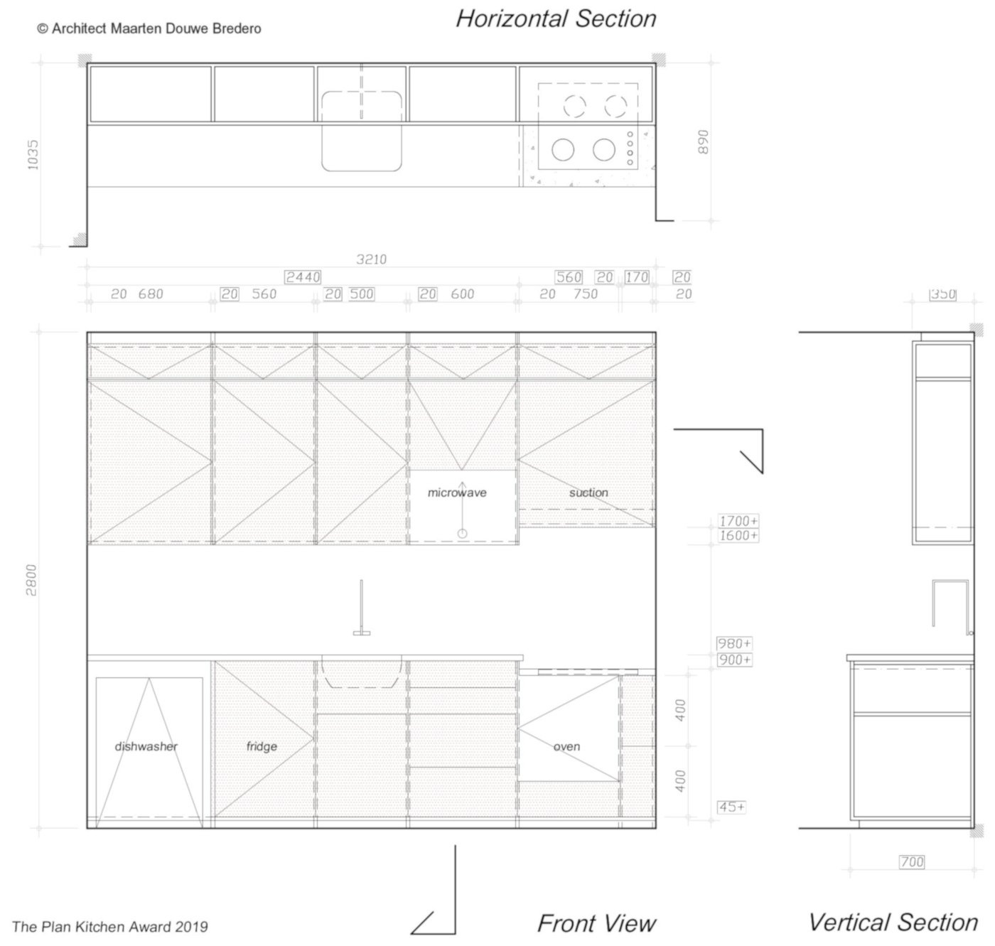 technical-drawing-note-proportion1to2-for cupboards M.D. Bredero