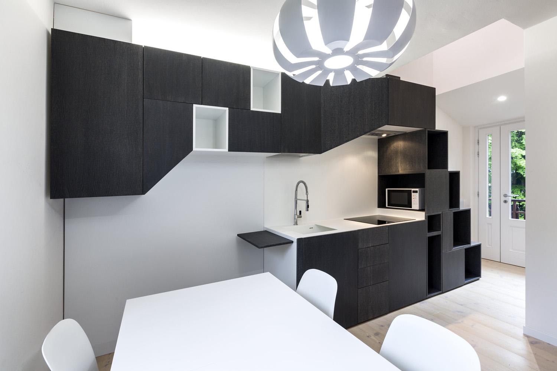 cucina e blocco scala Elia Falaschi fotografo