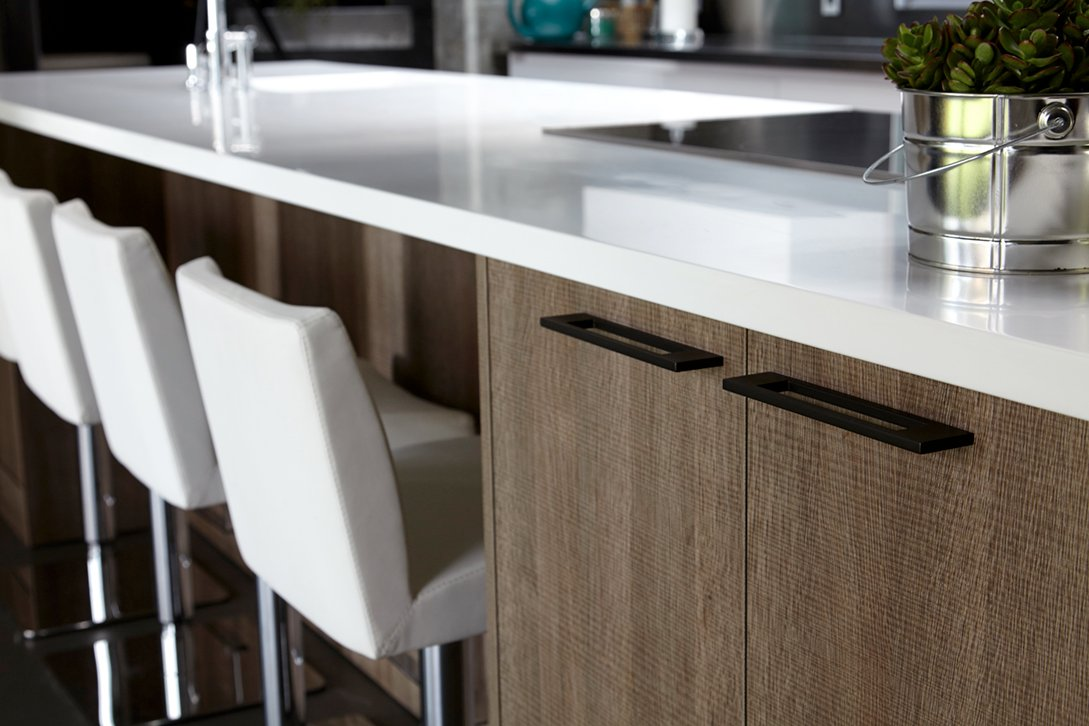 Countertop and stools Phillip Ennis Productions