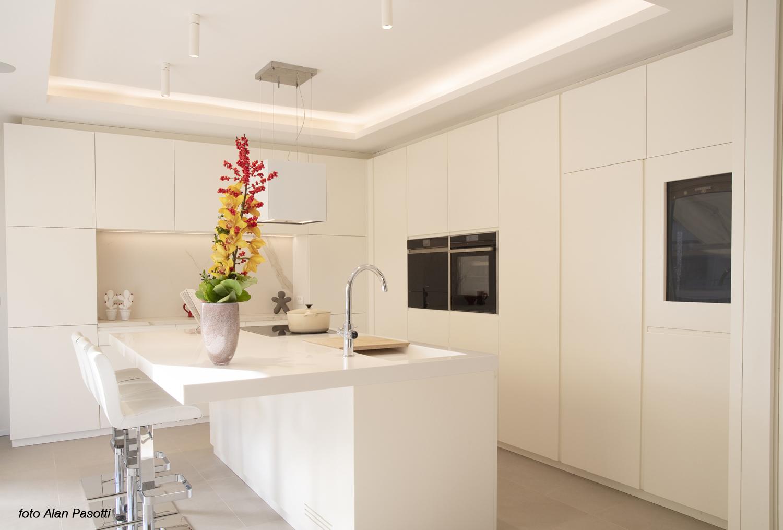 Vista della cucina Alan Pasotti
