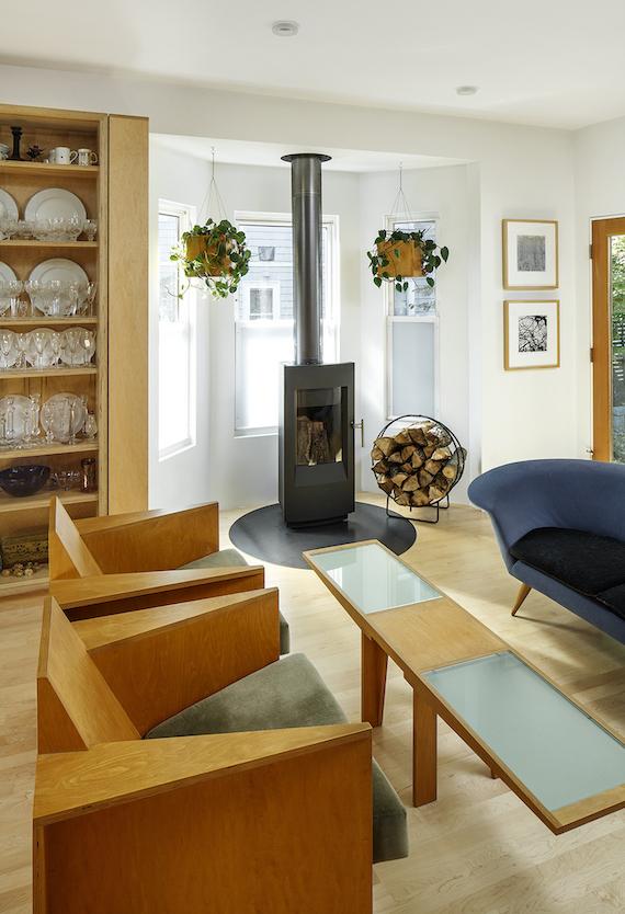4. Through Kitchen Wall to Living Bob O'Connor
