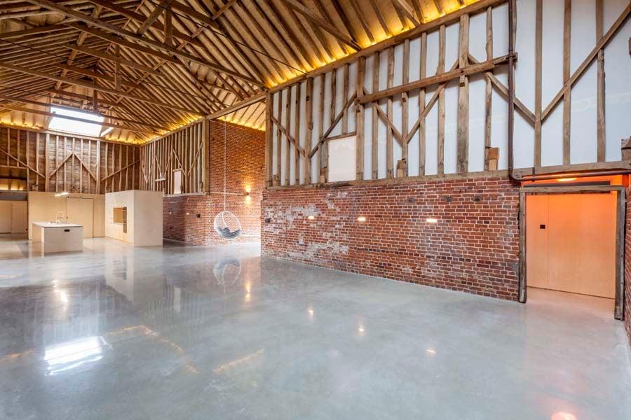 Church Hill Barn Kitchen by David Nossiter Architects Steve Lancefield
