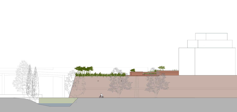 Profile of the bastion 1 Arbau Studio}