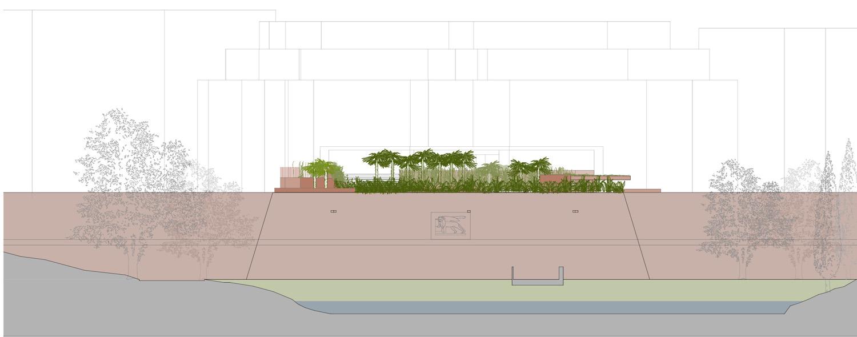 Profile of the bastion Arbau Studio}