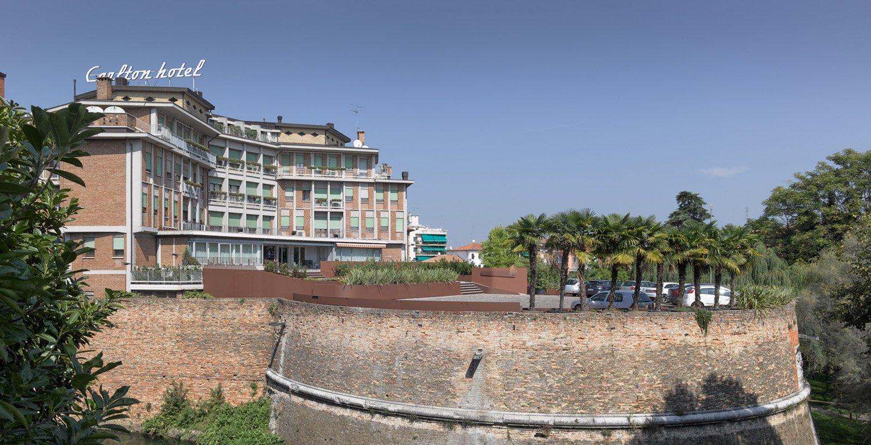 Overview of the bastion Francesco Castagna