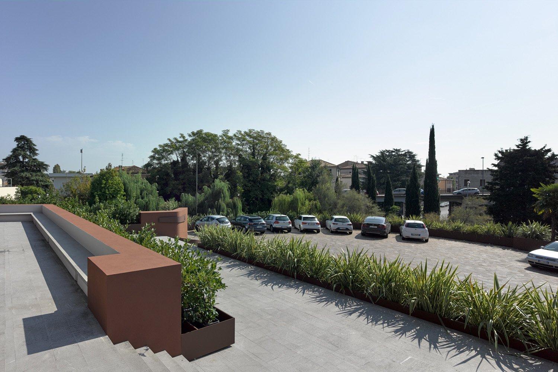 View of the terraces Francesco Castagna