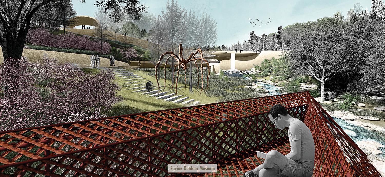 Ravine Outdoor Museum University of Arkansas Community Design Center