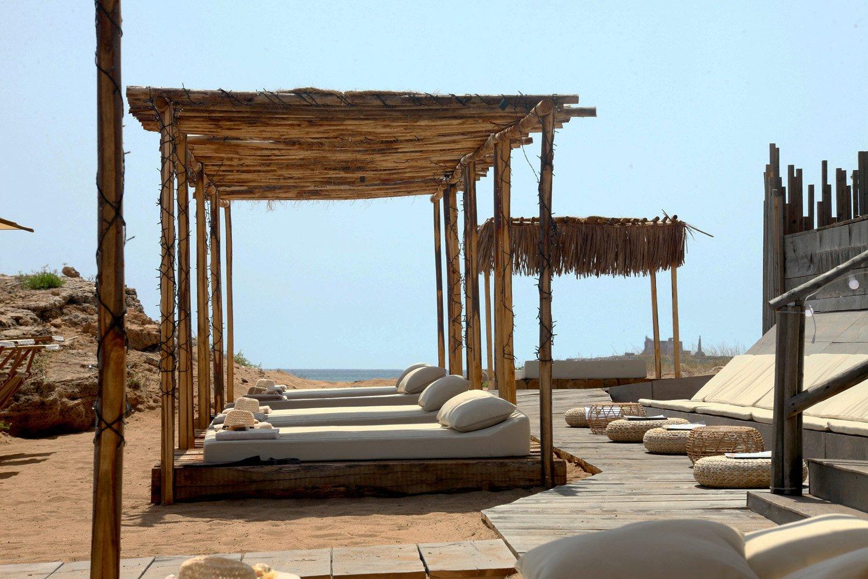 Manufatti per l'area relax sulla spiaggia STUDIO SALVATORE PULEO ARCHITETTO