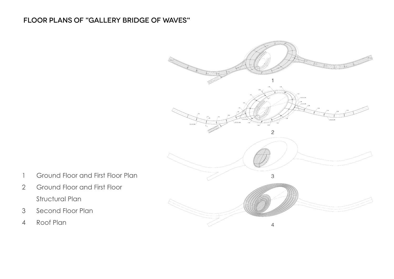 Floor Plans of Gallery Bridge of Waves COBBLESTONE}