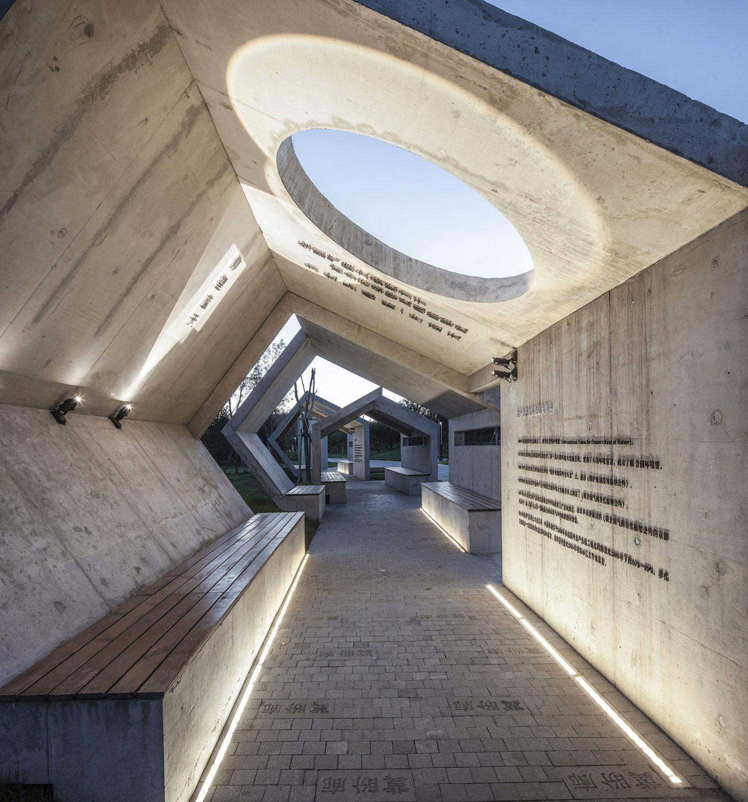 A photo of the Hope Corridor Hu Yijie