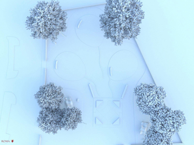 Virtual model, view n° 3 Roma Capitale - Tommaso Di Pierro