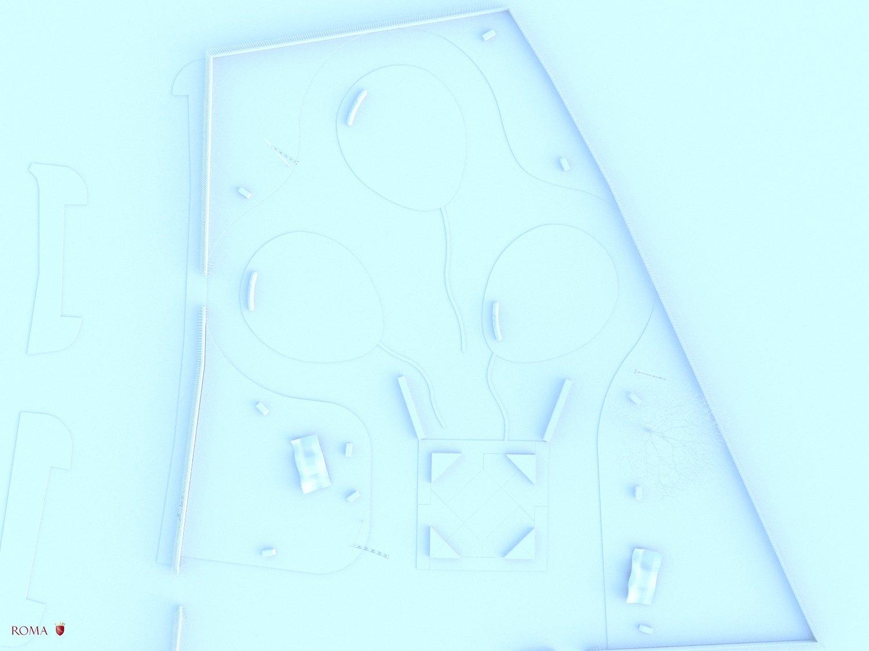 View 3b of the virtual layout Roma Capitale - Tommaso Di Pierro}
