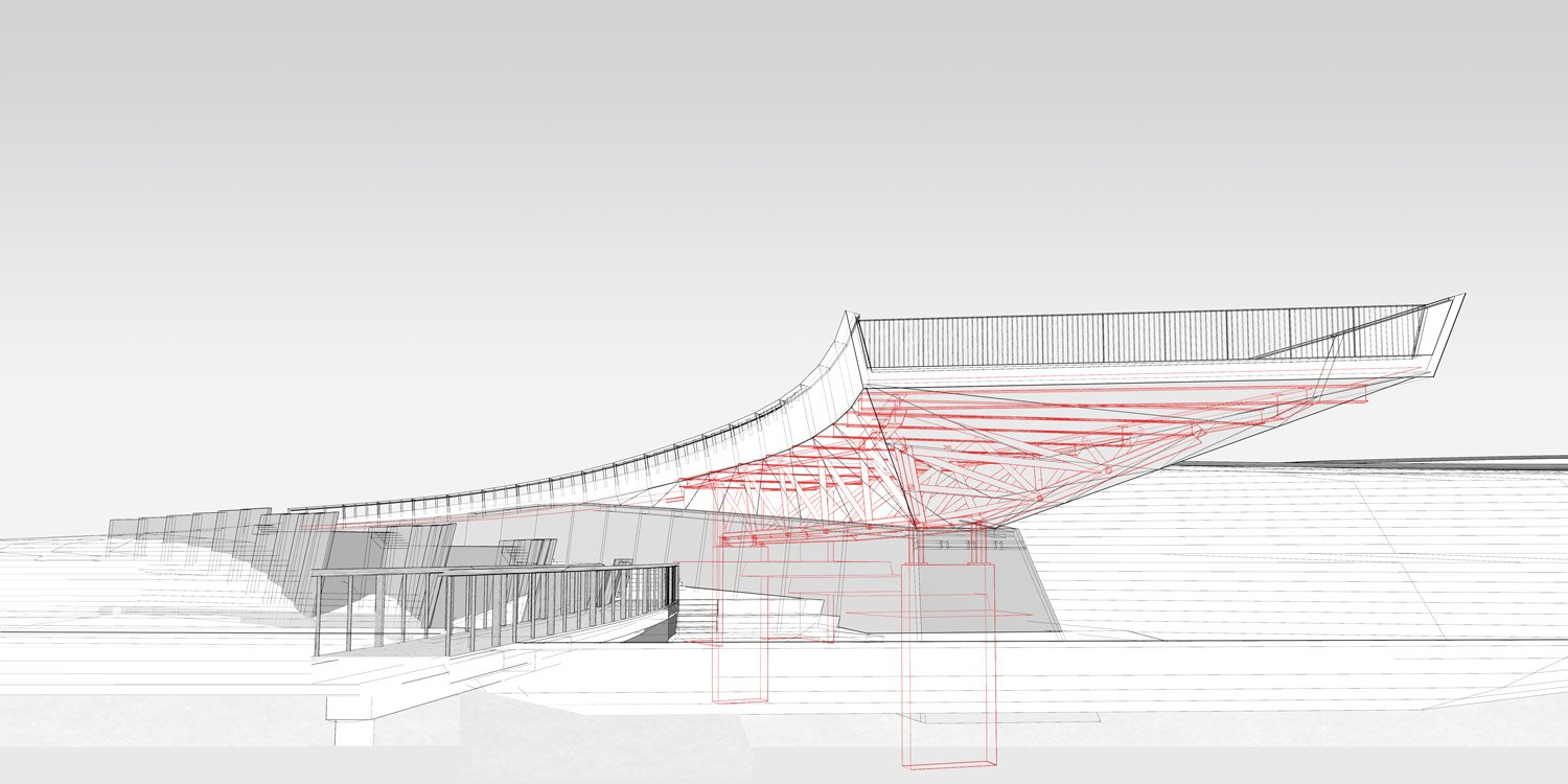 STRUCTURE OF OVERLOOK Courtesy of SWA/Balsley and WEISS/MANFREDI}
