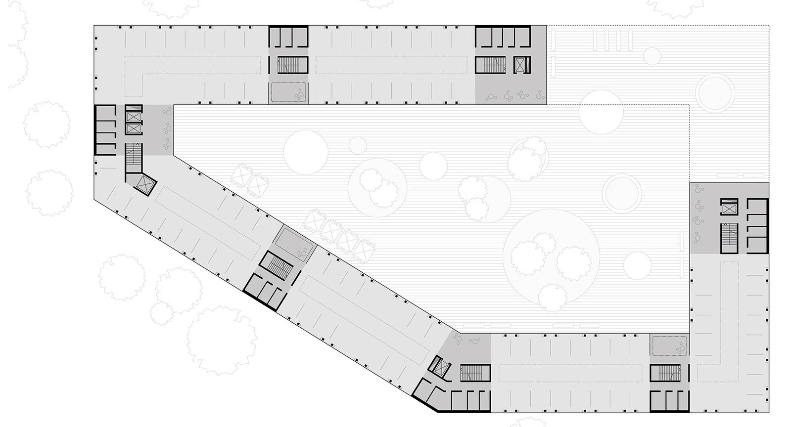 plan_1OG_WBA_SEHW SEHW Architektur GmbH}