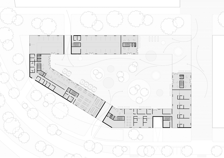 plan_EG_WBA_SEHW SEHW Architektur GmbH}