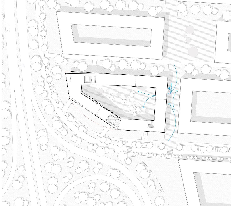 Site plan SEHW Architektur GmbH