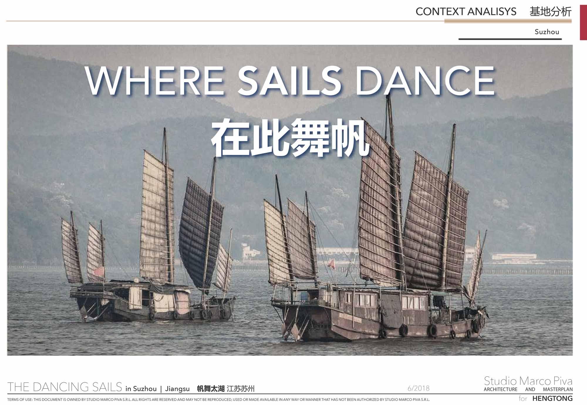 Dancing Sails Concept Studio Marco Piva}