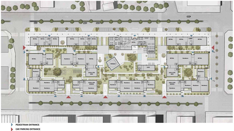 Ground Floor Plan Avcı Architects}