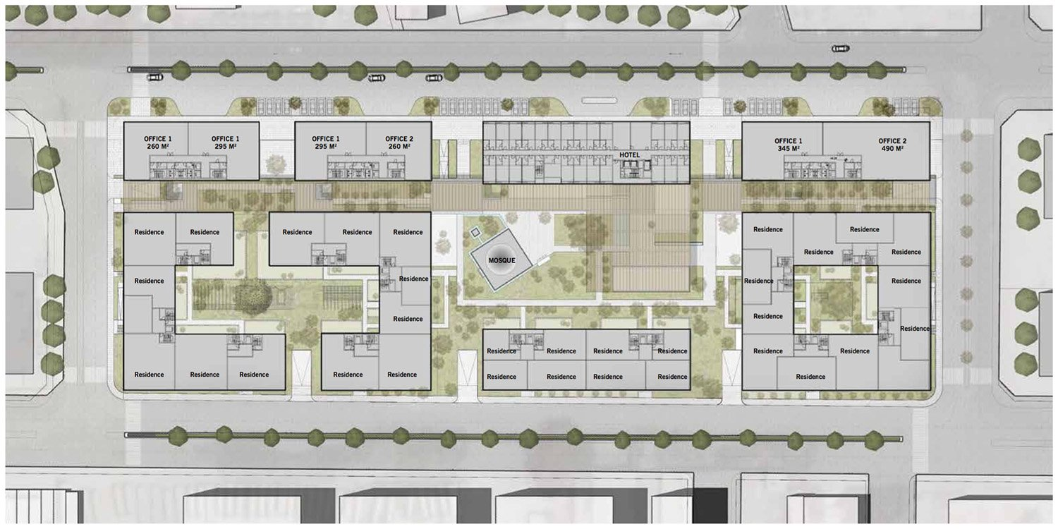 Typical Floor Plan Avcı Architects}