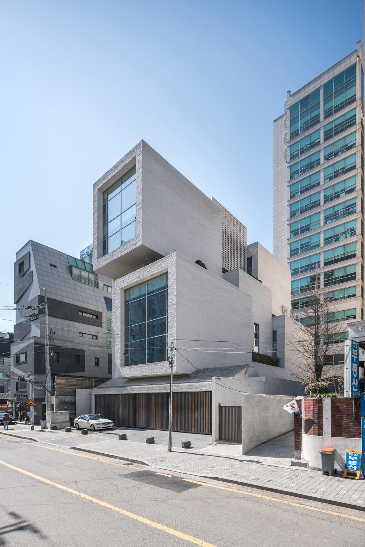 East-North facade Yousub Song - Studio Worlderful, Seoul, South Korea