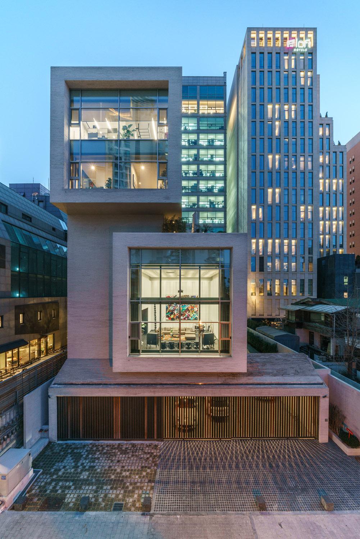 East facade Yousub Song - Studio Worlderful, Seoul, South Korea