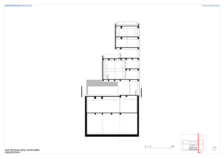 Cross section 1 Davide Macullo Architects SA}