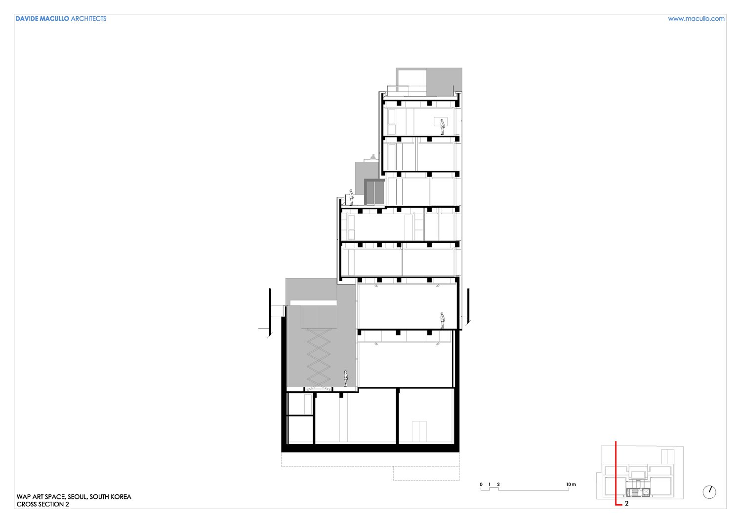 Cross section 2 Davide Macullo Architects SA}