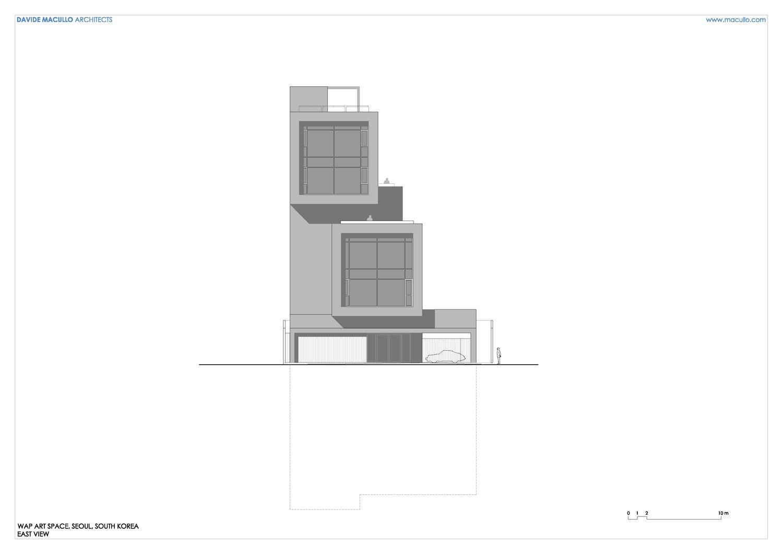 East elevation Davide Macullo Architects SA}