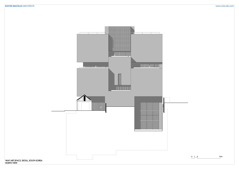 North elevation Davide Macullo Architects SA}