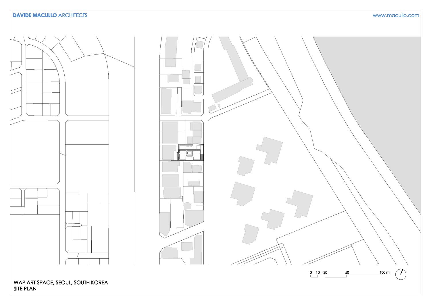 Site plan Davide Macullo Architects SA}