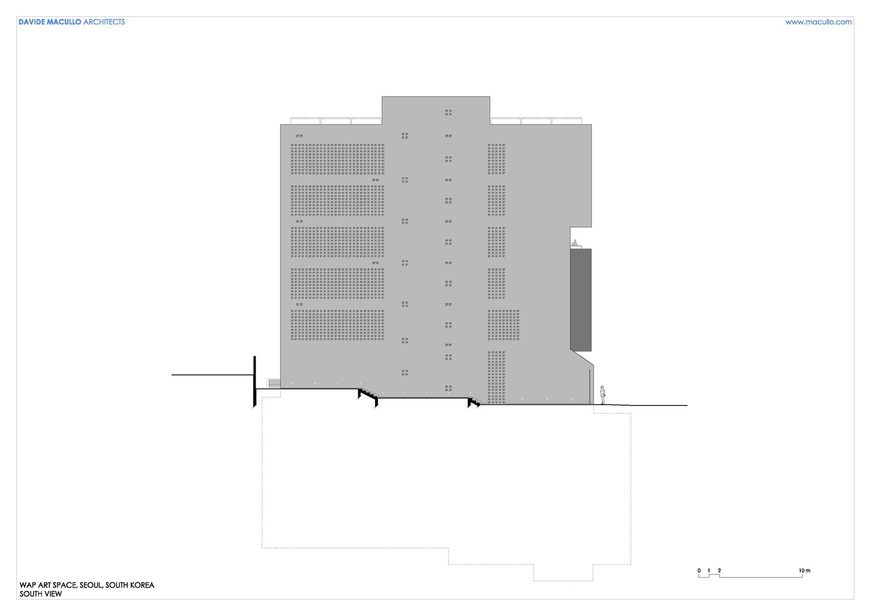 South elevation Davide Macullo Architects SA}