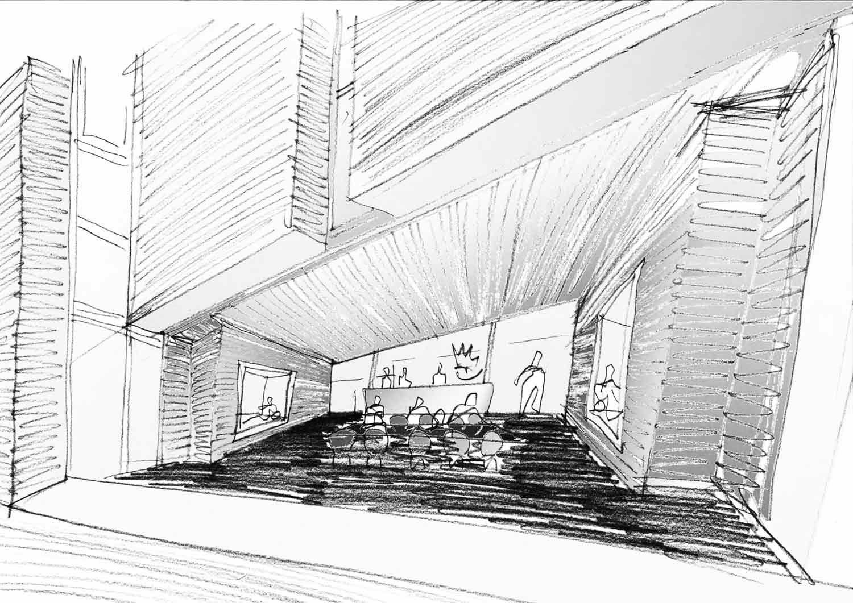 Sketch Davide Macullo Architects SA}