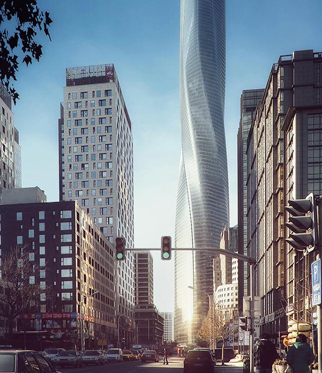 City street view EID Architecture