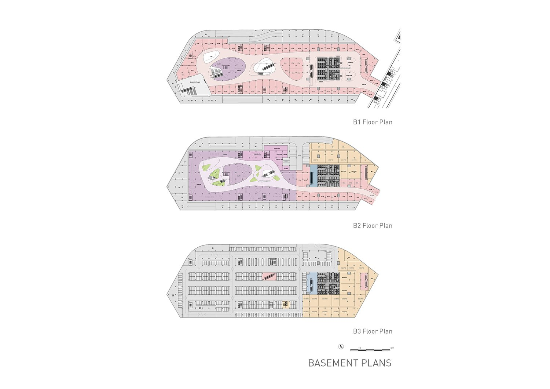 Basement plans EID Architecture}