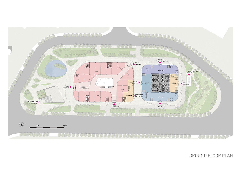 Ground floor plan EID Architecture}