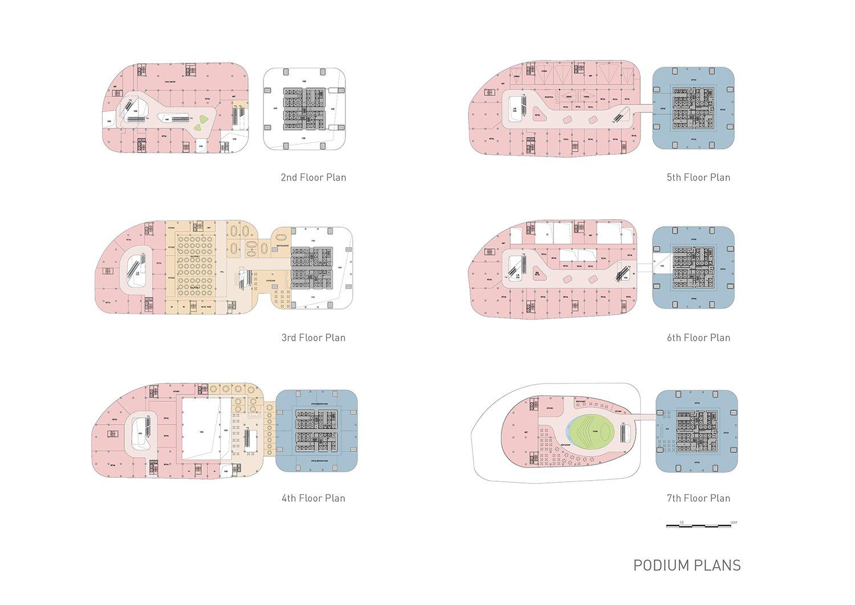 Podium plans EID Architecture}