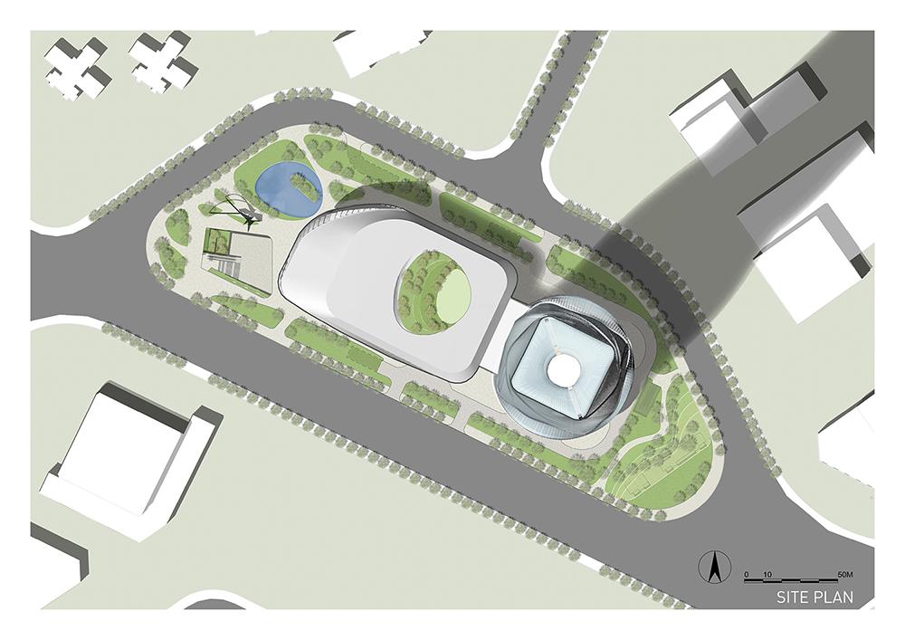 Site plan EID Architecture}