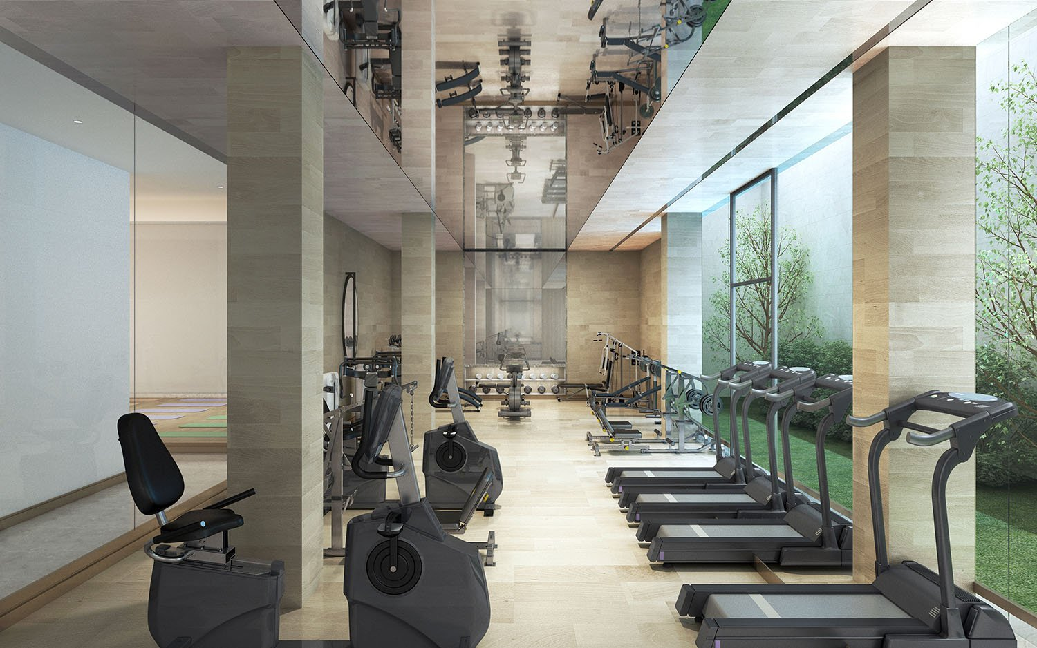 gym Harmony World Consultant & Design