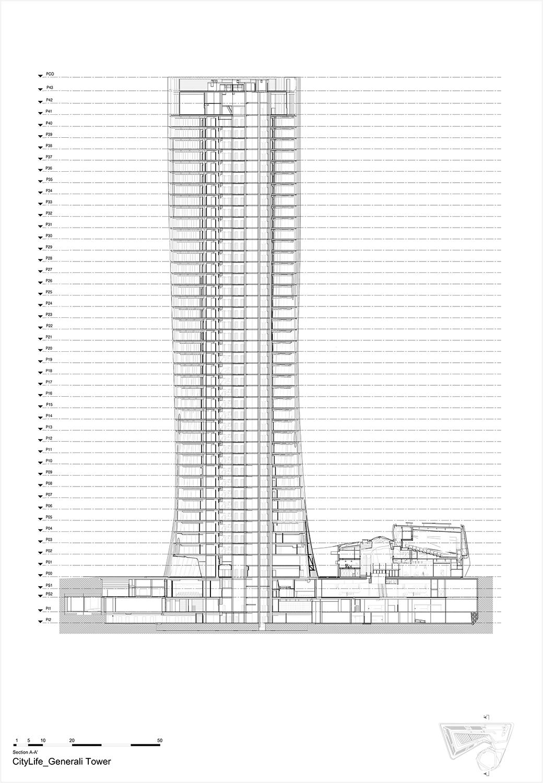 Section A Zaha Hadid Architects}