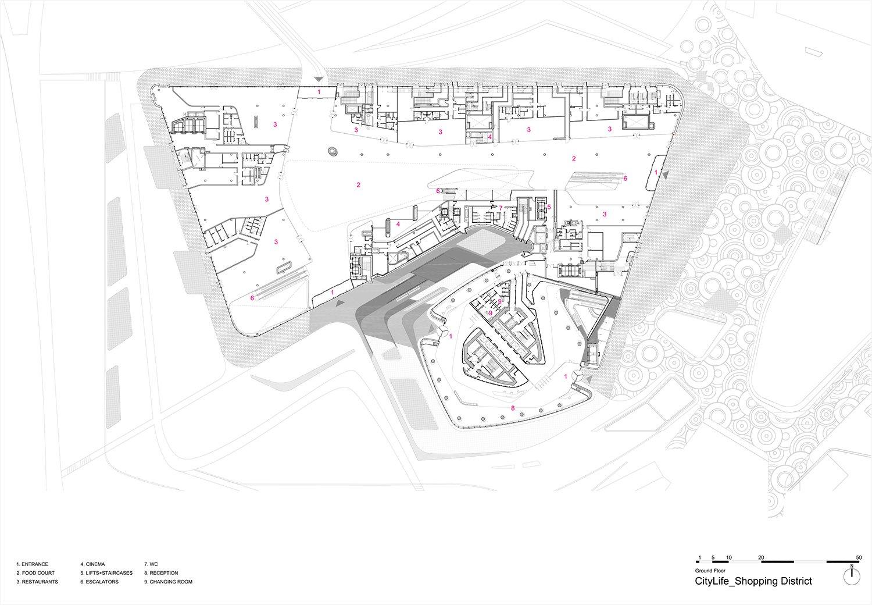 Ground Floor Plan Zaha Hadid Architects}