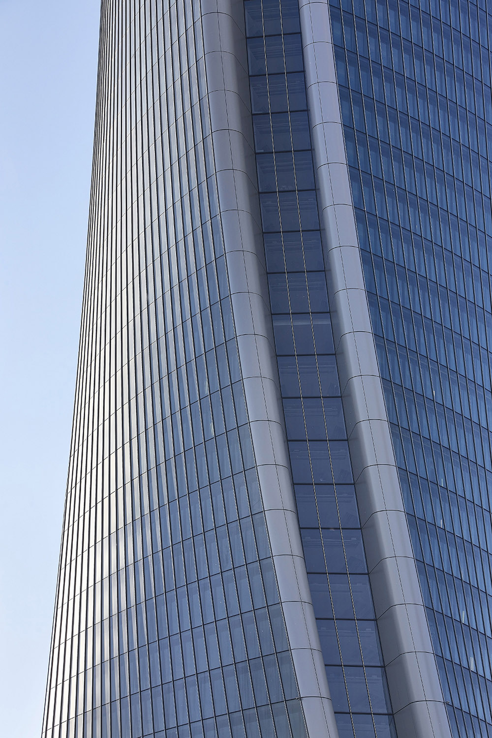 Generali Tower facade detail Photograph by Hufton + Crow