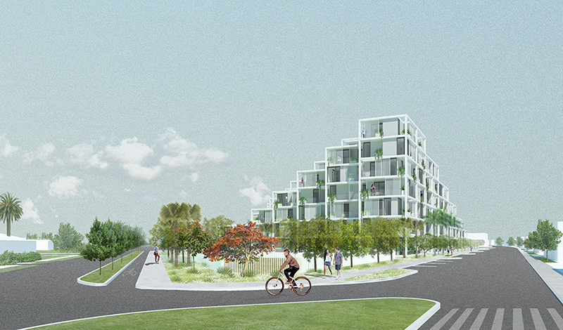 Clare Rendering Lorcan O'Herlihy Architects [LOHA]