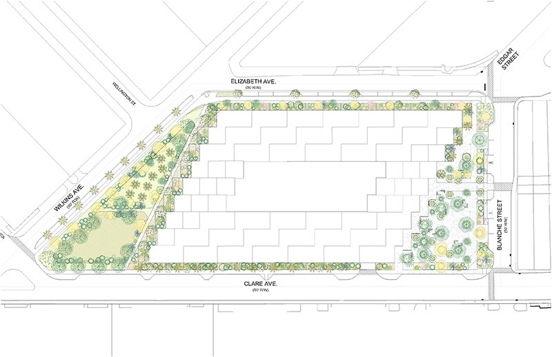 Site Plan Lorcan O'Herlihy Architects [LOHA]