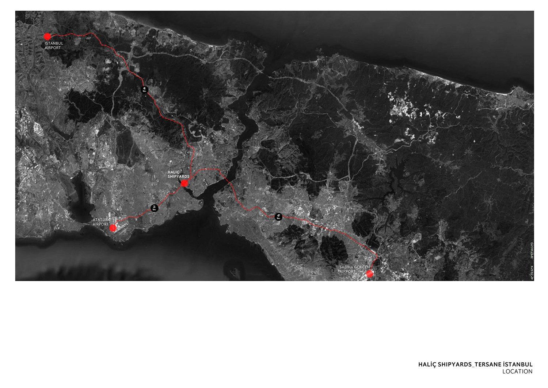 TERSANE ISTANBUL- HALIC SHIPYARDS - LOCATION TABANLIOGLU ARCHITECTS}