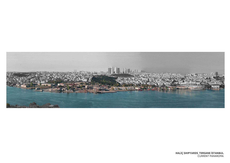 TERSANE ISTANBUL- HALIC SHIPYARDS - PANORAMA TABANLIOGLU ARCHITECTS}