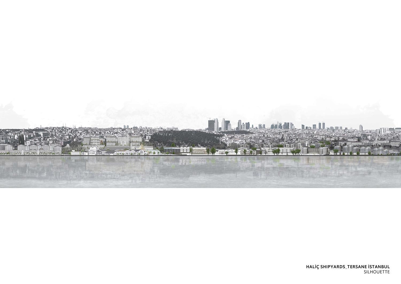 TERSANE ISTANBUL- HALIC SHIPYARDS - SILHOUETTE TABANLIOGLU ARCHITECTS}