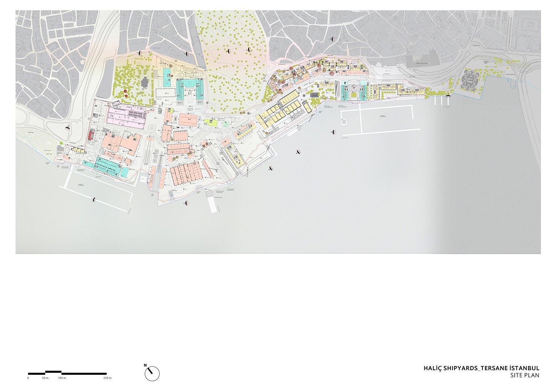 TERSANE ISTANBUL- HALIC SHIPYARDS - GROUND FLOOR PLAN TABANLIOGLU ARCHITECTS}
