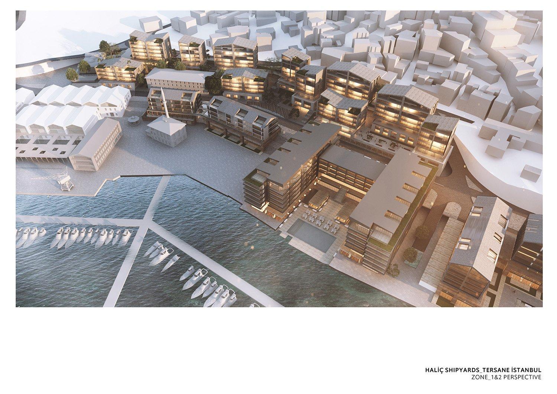 TERSANE ISTANBUL- HALIC SHIPYARDS - ZONE 1 TABANLIOGLU ARCHITECTS}